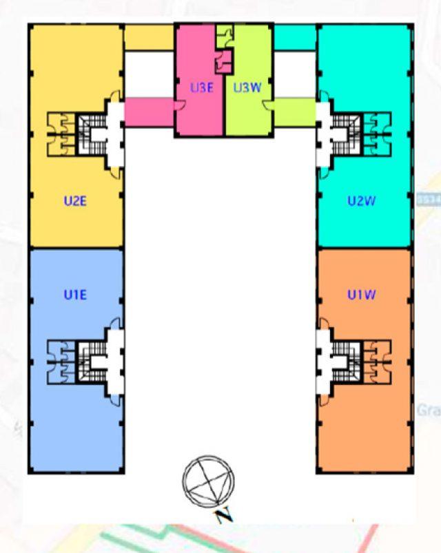 Blocco A / spazi uffici